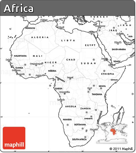 africa map no labels of blank simple map of africa no labels into your website