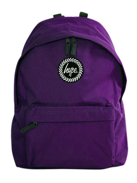 Ananndapers Standing Bag Purple hype purple badge backpack stand out