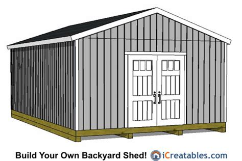 24 X 24 Shed by 16x24 Shed Plans Studio Design Gallery Best Design