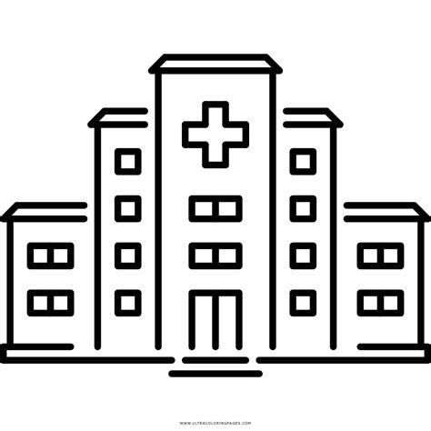 imagenes para colorear hospital dibujo de hospital para colorear ultra coloring pages