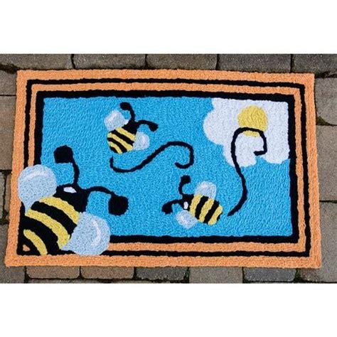 Bee Rug by Busy Bee Indoor Outdoor Rug Brecks