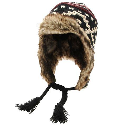 knit trapper hat knitting hats tag hats