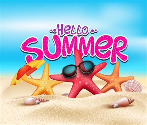 for summer free summer starfish vector free resource for
