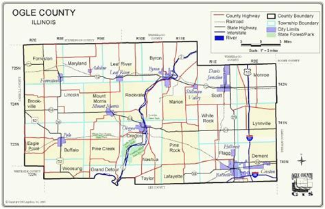 Ogle County Search Ogle Co Il 1875 And Current Township Maps
