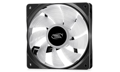 Deepcool Rf120 Rgb deepcool sort le ventilateur rf 120 du gammaxx gt