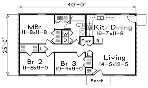 500 square foot house floor plans 1000 square foot house plans 1 bedroom 500 square foot