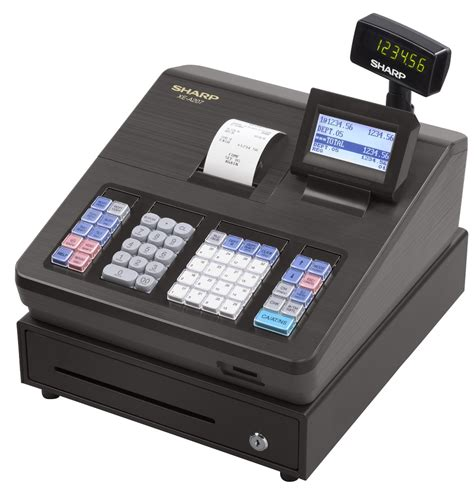 Mesin Kasir Electronic Register Casio Qt 6100 sharp register machine model xe a207 register malaysia