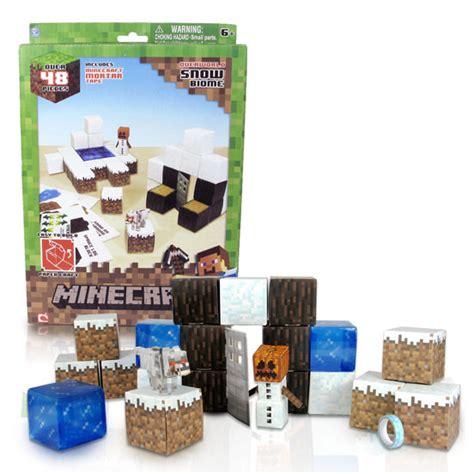 Minecraft Papercraft Snow Biome - minecraft papercraft 48 snow biome pack