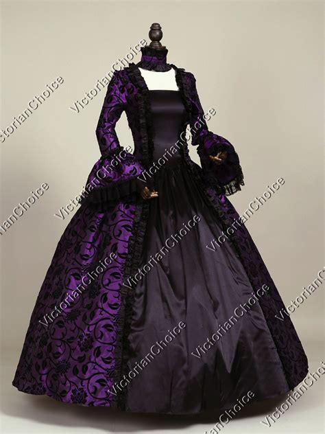 Dress Jacquard Purple Ac916 Import renaissance brocade dress prom gown steunk costume 119 ebay