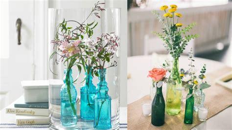 como decorar botellas en vidrio decorablog revista de decoraci 243 n
