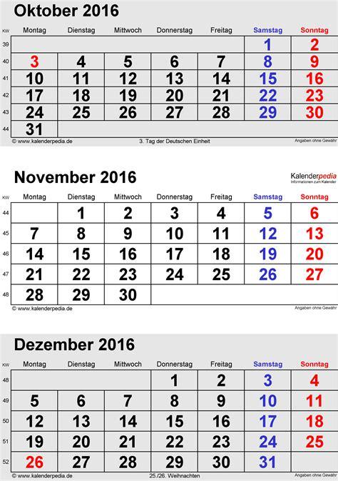 Kalender Für Word November Und Dezember 2015 Kalenderpedia Calendar
