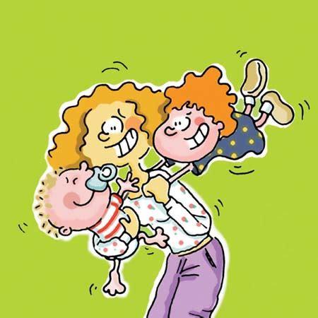 imagenes de mama con sus hijos en caricatura dibujos de mam 225 s en caricatura imagui