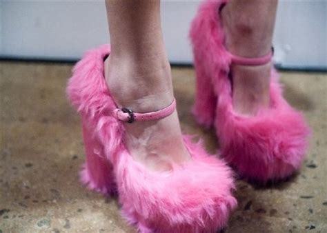 Fluppy Soes Pink Fluffy Shoes Shoes