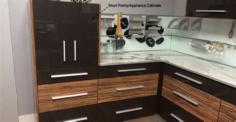 short kitchen cabinets short pantry appliance cabinets