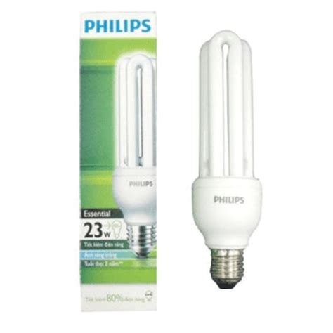Lu Philips Essential 23w b 243 ng 苟 232 n compact philips essential 23w 3u