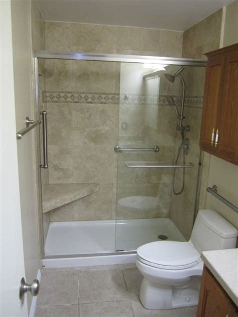 small bathroom shower stall ideas 23 bathroom designs with handicap showers messagenote