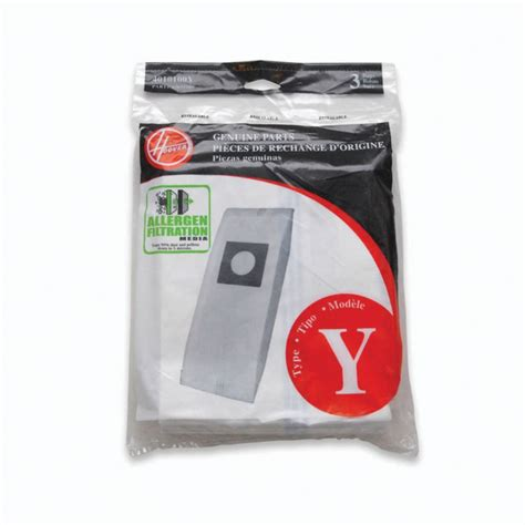 Home Depot Vacuum Bags by Hoover Type Y Allergen Bag The Home Depot Canada