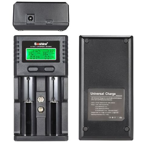 best universal battery charger best soshine lcd universal battery charger dual eu sale