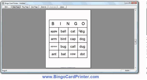 pattern maker 4 4 for free 4x4 bingo card maker software how to create bingo cards