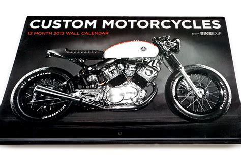 motorcycle videos bike exif bike exif custom motorcycle calendar 2013 autoevolution