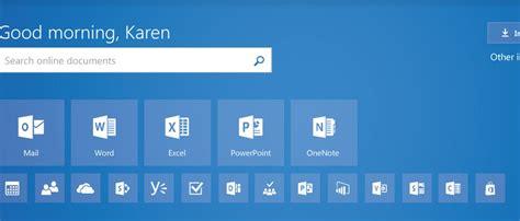 Microsoft Office Home Page Microsoft Aggiorna La Home Page Di Office 365 Webnews