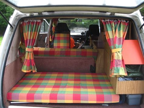 Campervan Upholstery Fabric 1985 T25 Hightop Camper 171 Dub Works