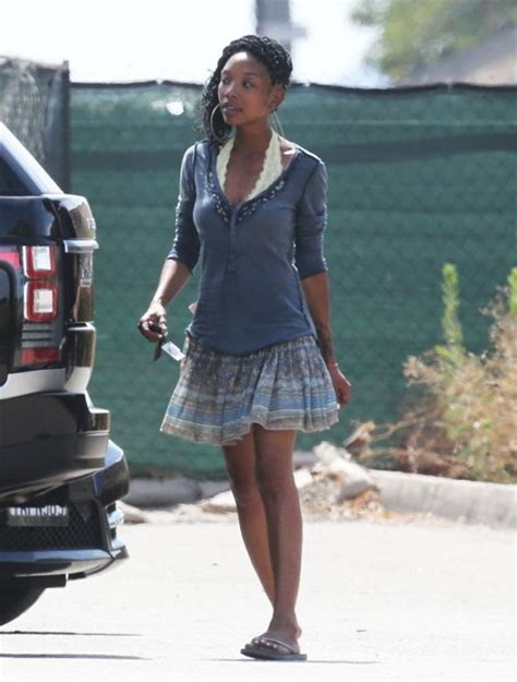 Brandy Pictures   Brandy Norwood Goes Shopping   Zimbio