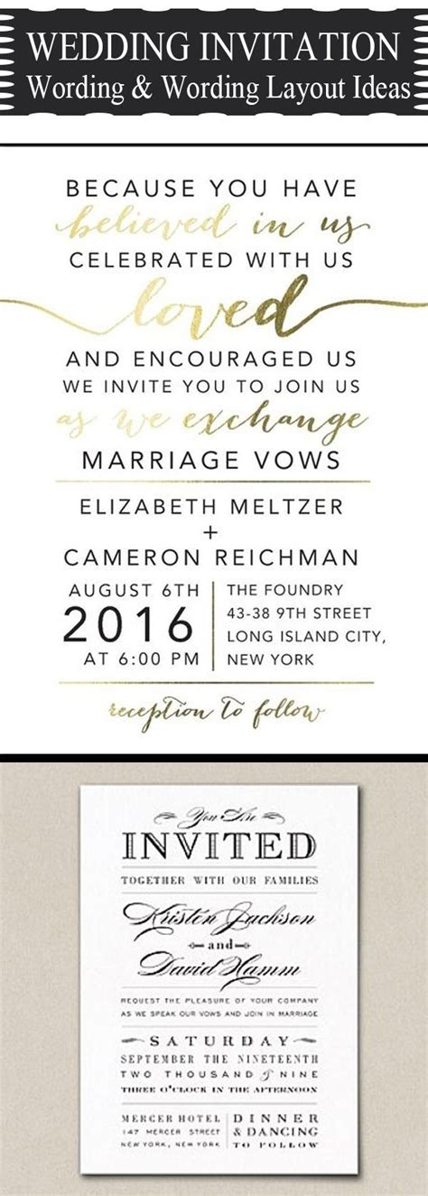 Unique Wedding Invitation Verbage by 25 Best Ideas About Wedding Invitation Wording On