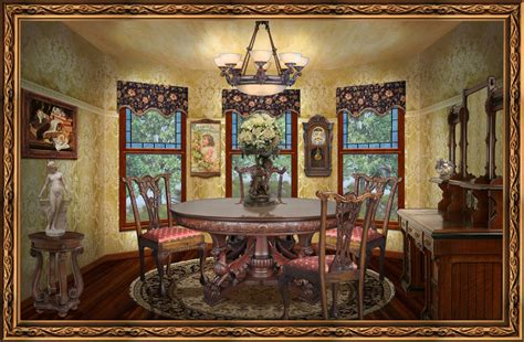 create affordable victorian style living room