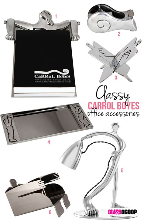 Fashion Desk Accessories Carrol Boyes Desk Accessories Style Scoop South Fashion And Lifestyle
