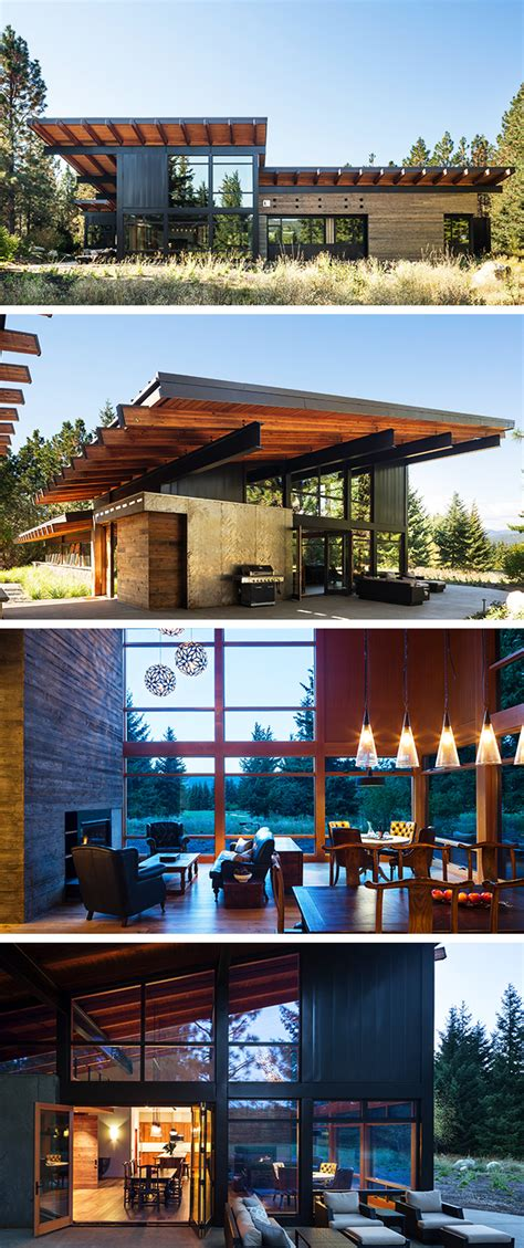 coates design architects tumble creek cabin by coates design architects in