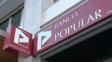 banco popular dividendo popular l 237 a capital suprime dividendo y se hunde en bolsa