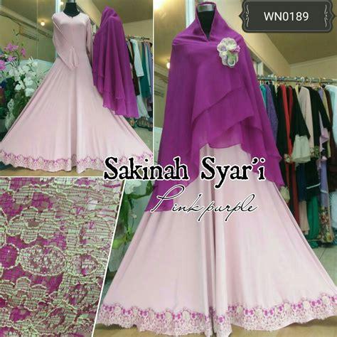 Sakinah Maxi Syari ayuatariolshop distributor supplier tangan pertama