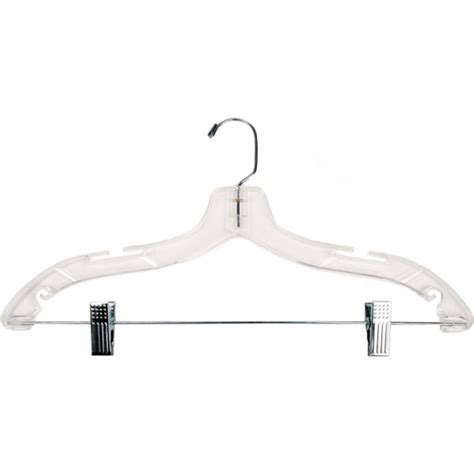 photo hanger clips clear plastic clothes hanger with clips 17 inch in