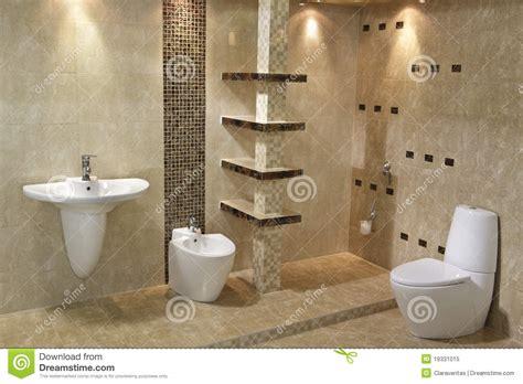 minimalist bathroom interior stock image image of