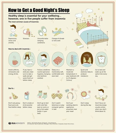 How To Get A Good Night S Sleep Hunting For A Perfect | 17 march 2013 ria novosti infographics how to get a good