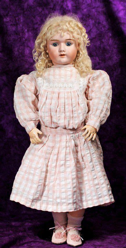 antique bisque doll identification large german bisque child doll by handwerck marks lot