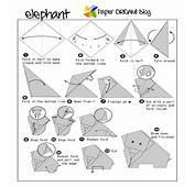 Origami Elephant  Paper Guide