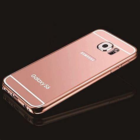 Mirror Samsung Galaxy S5 Hardcase Bumper Mirror Luxury gold mirror samsung galaxy s6 umiko tm clear