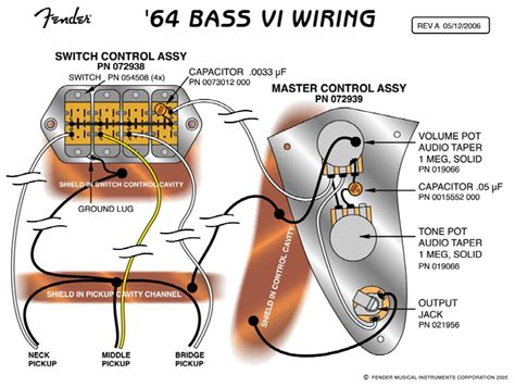 fender jaguar bass wiring diagram agnitum me
