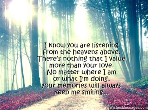 Wedding Anniversary Quotes For Deceased Parents by I Miss You Messages For After Quotes To
