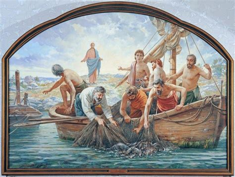 imagenes de la pesca milagrosa la pesca milagrosa granos de sal