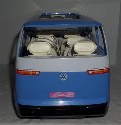 barbie volkswagen barbie volkswagen blue microbus vw bus van what s it worth