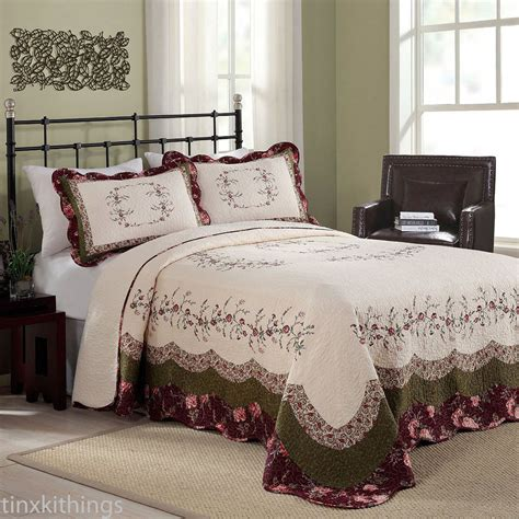 King Size Bed Spread Cotton Filled Oversized Quilt Machine Oversized Beds
