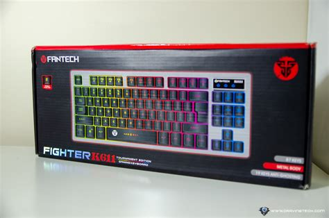 Fantech Keyboard Gaming K611l by Fantech Fighter K611l Review A Cheap Gaming Keyboard