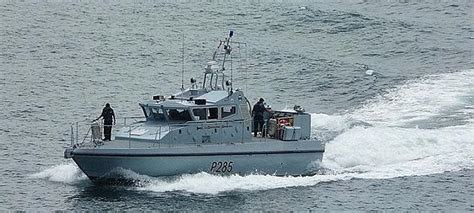 by boat in spanish royal navy chases spanish boat out of waters off gibraltar