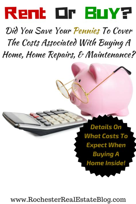 what fees are associated with buying a house should i continue to rent or buy a home
