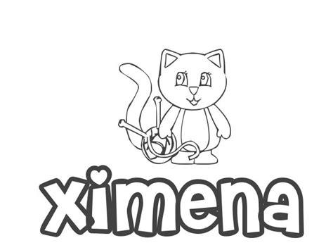 imagenes de corazones con el nombre de ximena nombre de ni 241 a ximena significado y origen de ximena