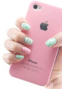 ekiblog com mint green amp pink spring nail art amp ebay hauls