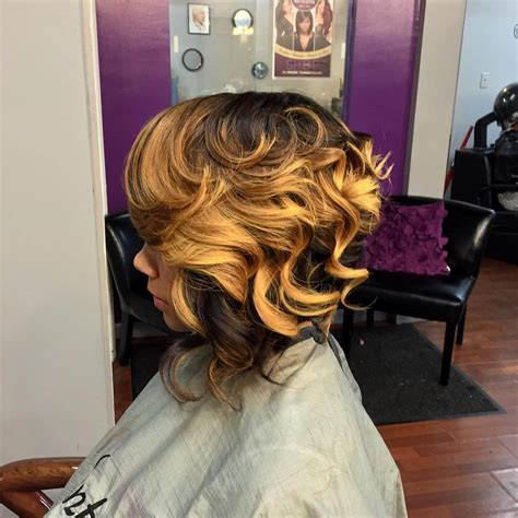 best curling wand for textured bob wavy bob wand 23 sew in hairstyle designs ideas design trends